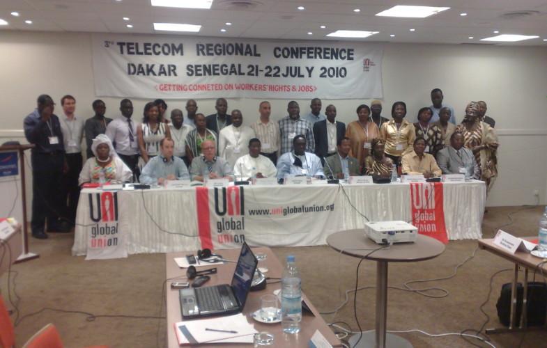 Telecom regionnal de conference de dakar
