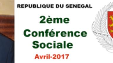 Deuxième Conférence sociale du Sénégal