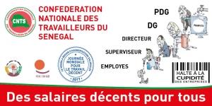 Célébration Journée mondiale du travail décent 2017