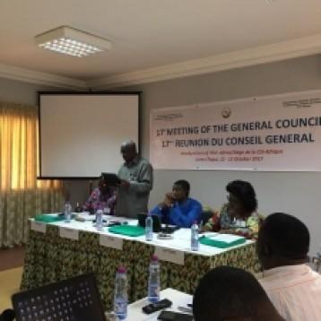 Conseil Général CSI Afrique Octobre