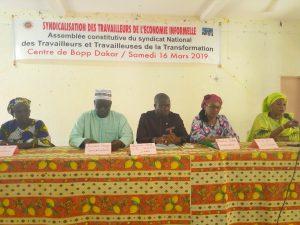 AG CONSTITUTIVE DU SYNDICAT NATIONAL DES TRAVAILLEURS DE LA TRANSFORMATION DES PRODUITS LOCAUX