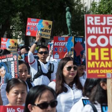 LE SENAT FRANÇAIS RECONNAIT LE GOUVERNEMENT D'UNITE NATIONALE DU MYANMAR